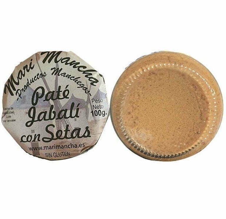Paté artesano de jabalí con setas 100g - Patés Gourmet