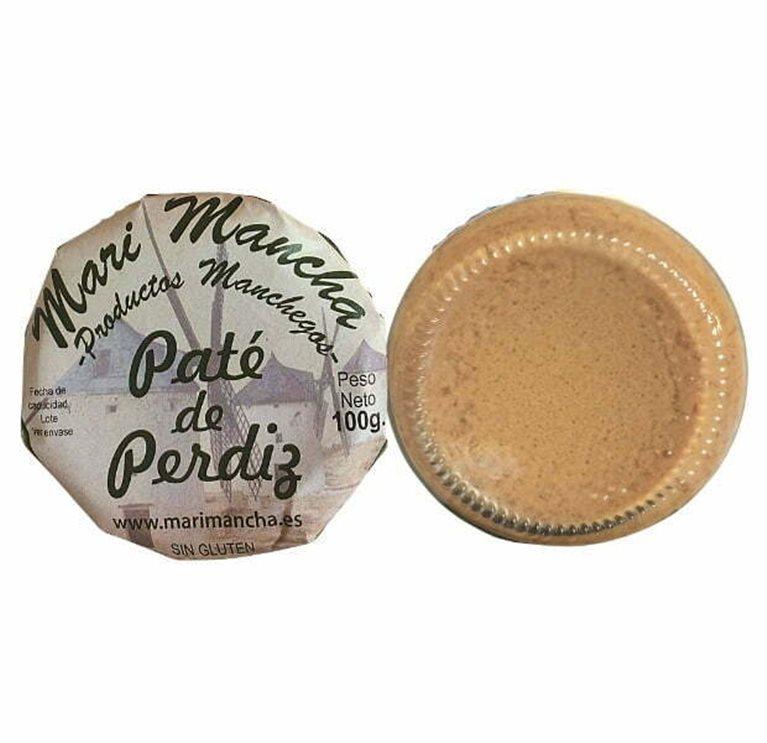 Paté artesano de perdiz 100g - Patés Gourmet
