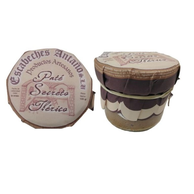 Paté artesano de secreto ibérico 100g - Patés Gourmet