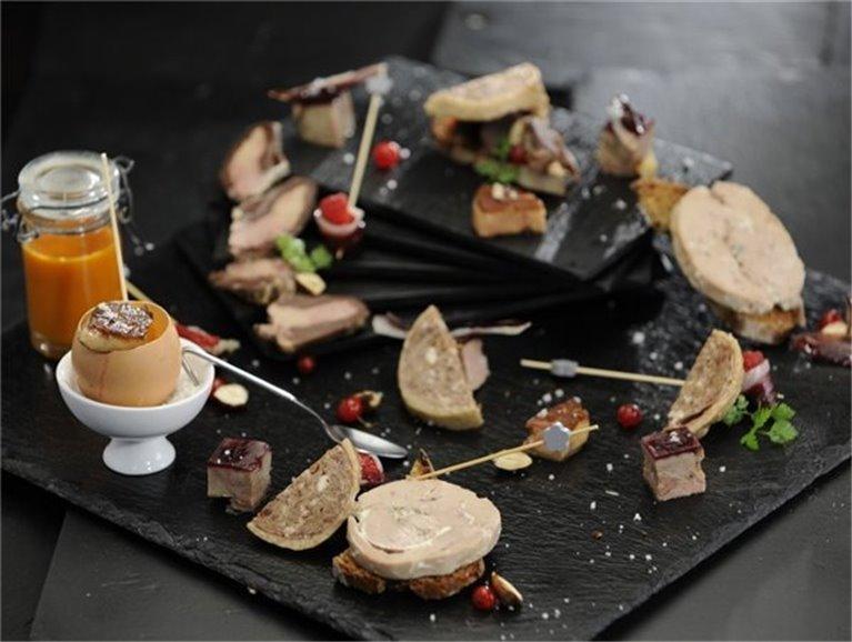 Pâté with duck foie gras (25% foie gras) 200 g