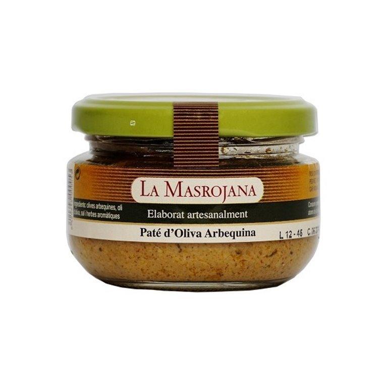 Paté de Aceituna Arbequina La Masrojana 100 gr., 1 ud