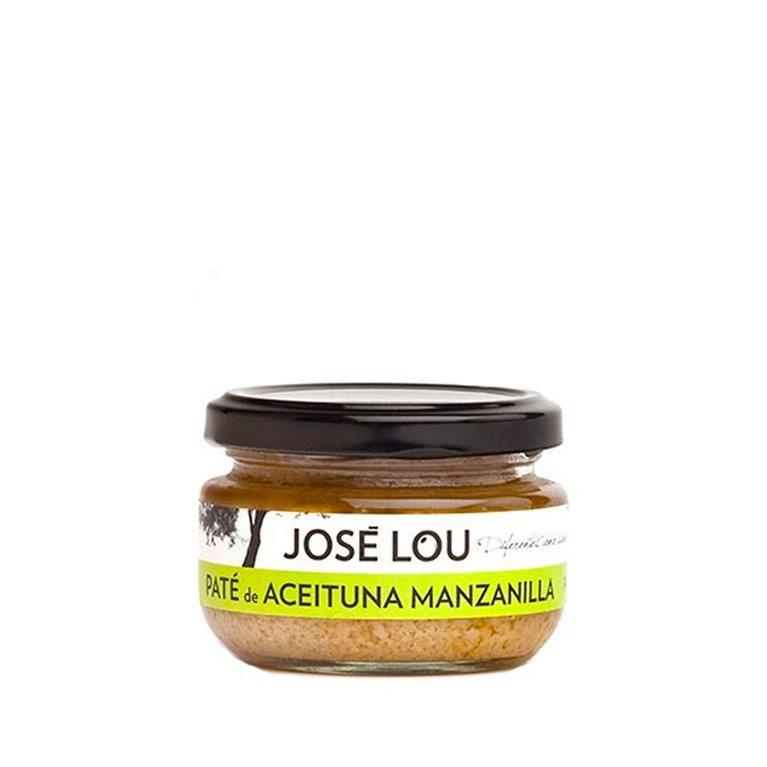 Paté de aceituna manzanilla 120gr José Lou