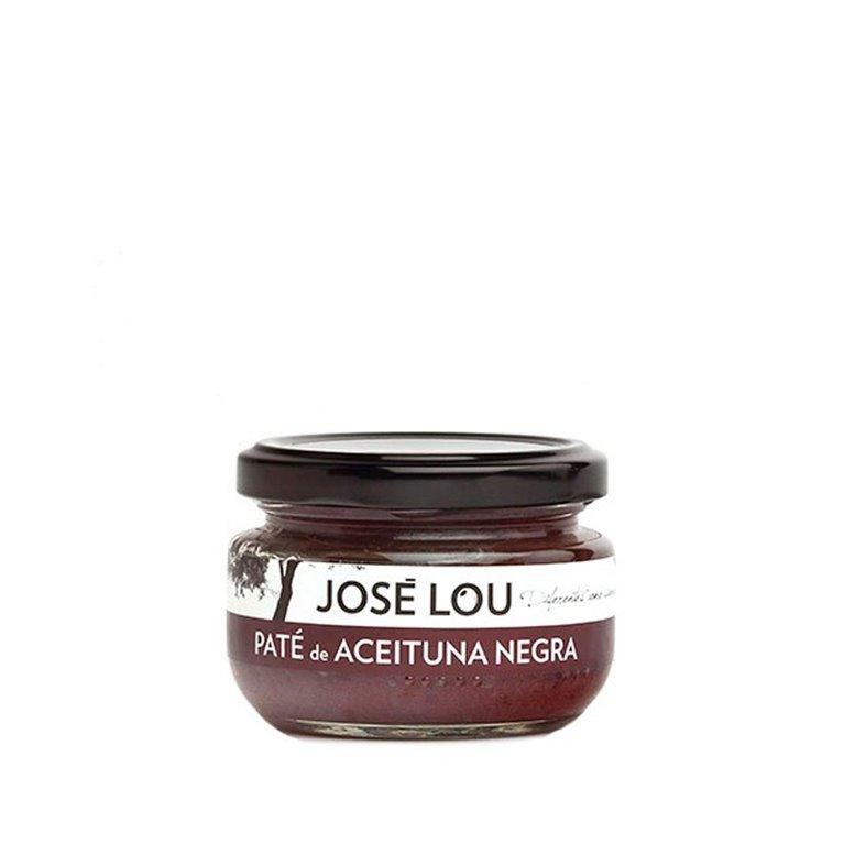Paté de aceituna negra 120gr José Lou