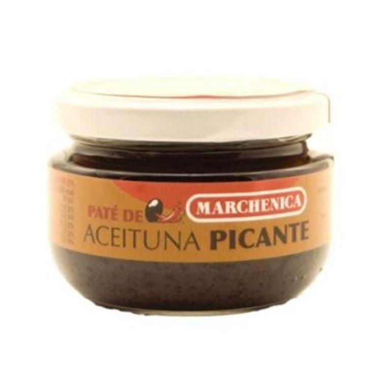 Paté de aceituna negra picante Marchenica