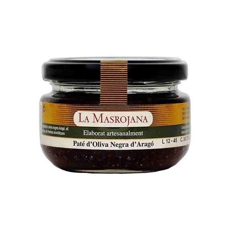 Paté de Aceitunas Negra La Masrojana 100 gr., 1 ud