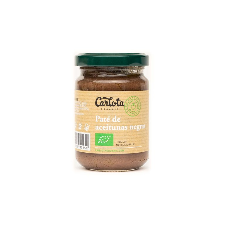 Paté de aceitunas negras 140g