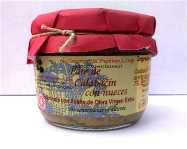 Paté de calabacín con nueces Uncastillo, 1 ud