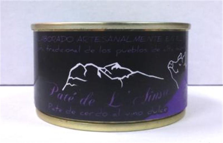 Paté de campaña al Oporto molido  L´ainsa, 1 ud