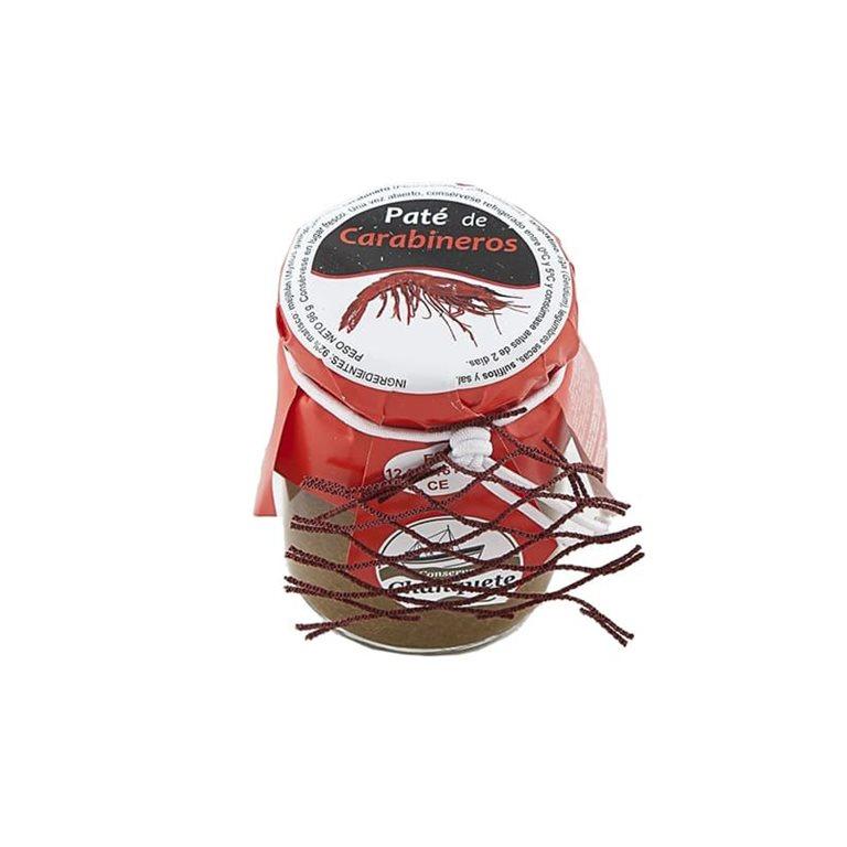 Paté de Carabineros. Conservas Chanquete