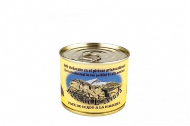 Paté de cerdo a la pimienta L´ainsa, 1 ud