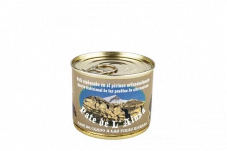 Paté de cerdo a las finas hierbas L' ainsa, 1 ud