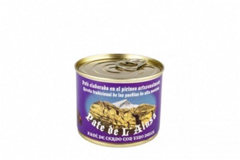 Paté de cerdo al Oporto L´ainsa, 1 ud