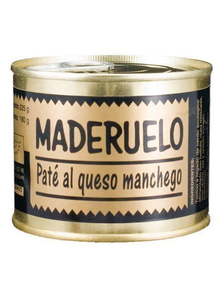 Paté De Cerdo Al Queso Manchego