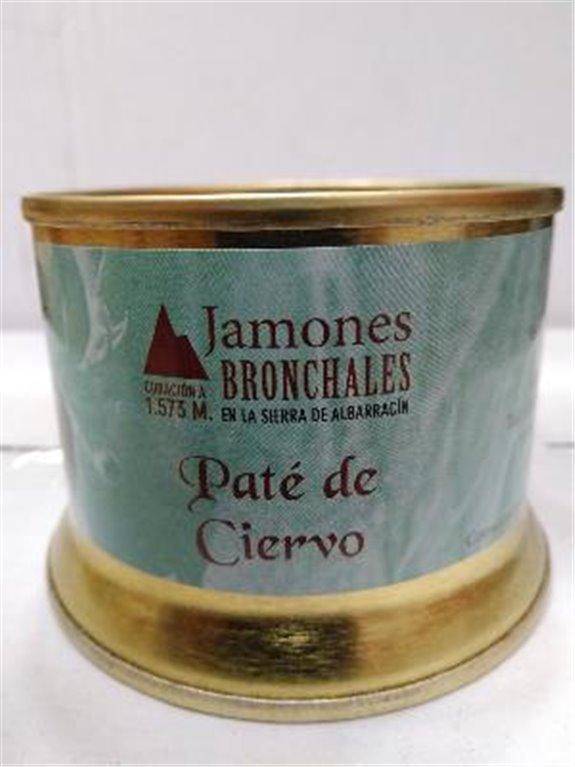 Paté de ciervo Bronchales, 1 ud