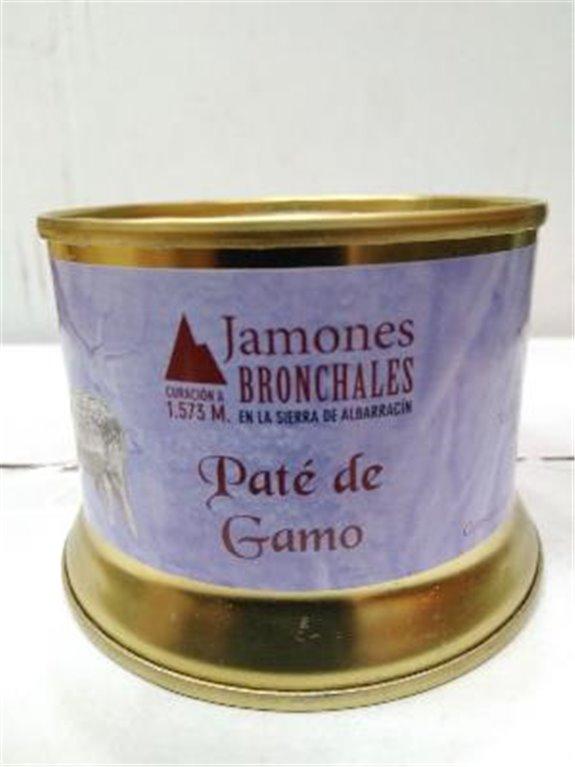 Paté de gamo Bronchales, 1 ud