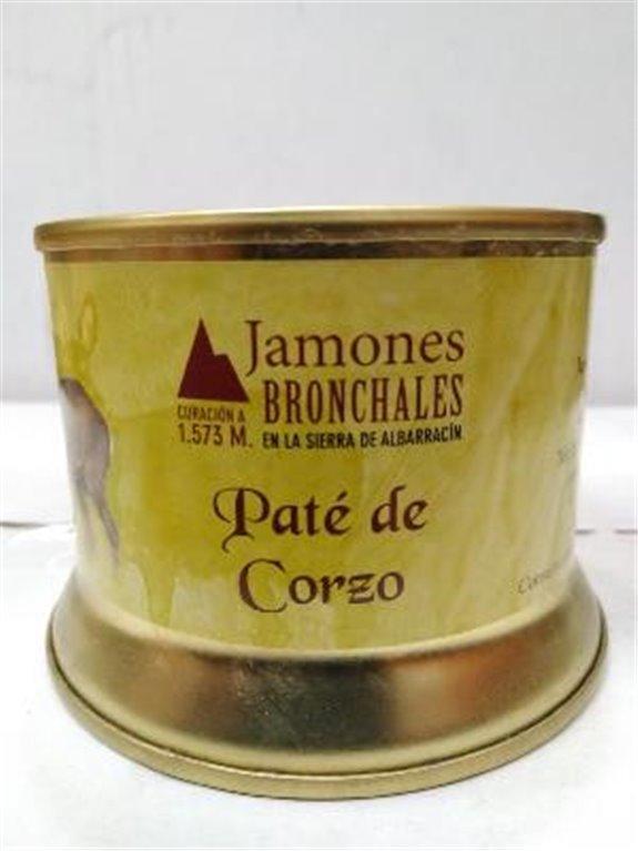 Paté de corzo Bronchales, 1 ud
