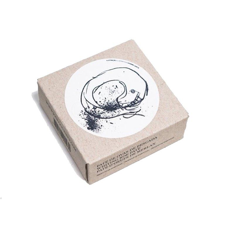 Paté de Huevas de Merluza 75gr. Jose Gourmet. 8un., 1 ud
