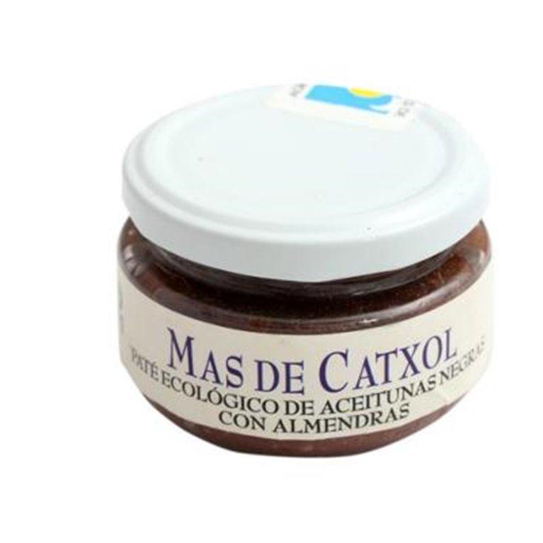 Paté de oliva negra con almendras Mas de Catxol, 1 ud