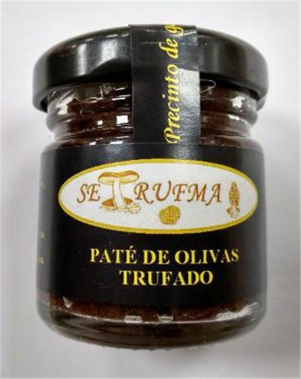 Paté de oliva trufado Setrufma, 1 ud