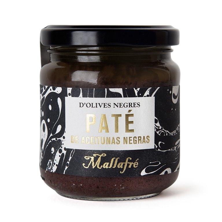 Paté de olivas negras 185gr. Mallafré. 6un., 1 ud