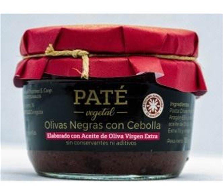 Paté de olivas negras con cebolla Uncastillo