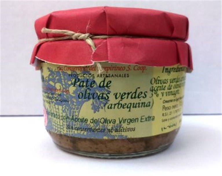 Paté de olivas verdes Uncastillo, 1 ud