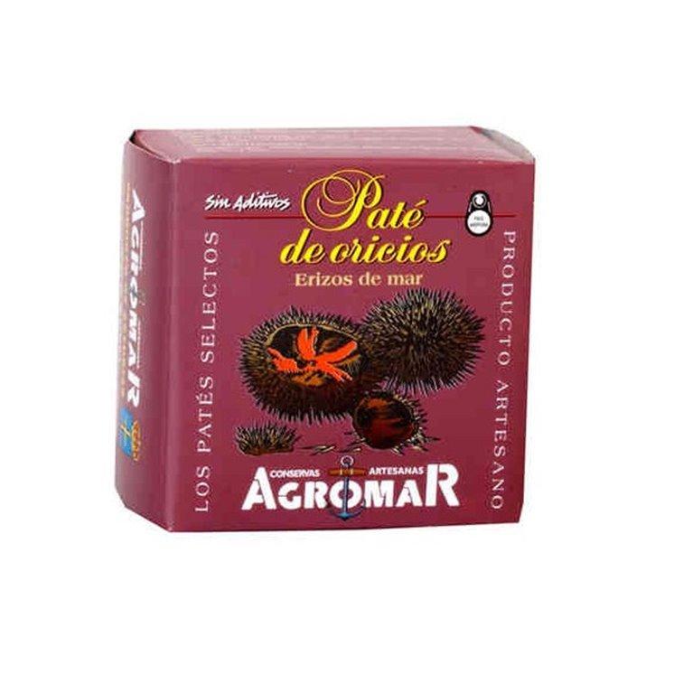 Paté de Oricios (Erizos de Mar) Agromar 100 gr., 1 ud
