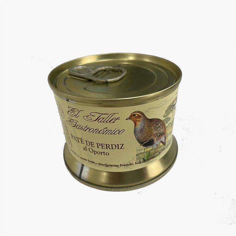 Paté de Perdiz al Oporto 125g El Taller Gastronómico