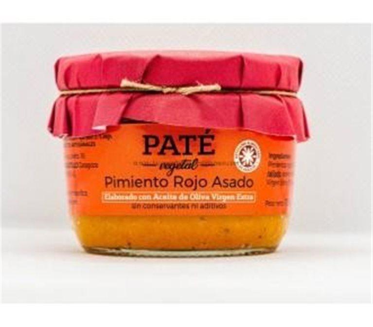 Paté de pimiento rojo asado Uncastillo