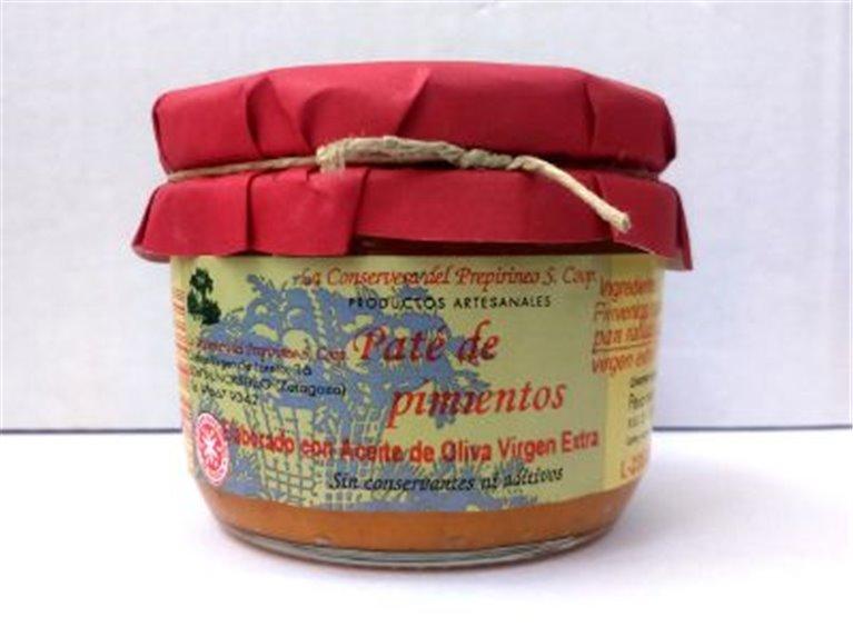 Paté de pimiento rojo asado Uncastillo, 1 ud