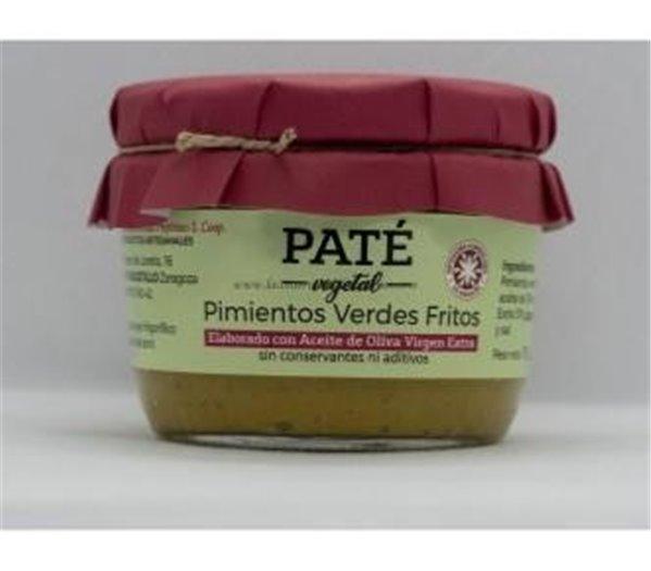 Paté of fried green peppers Uncastillo