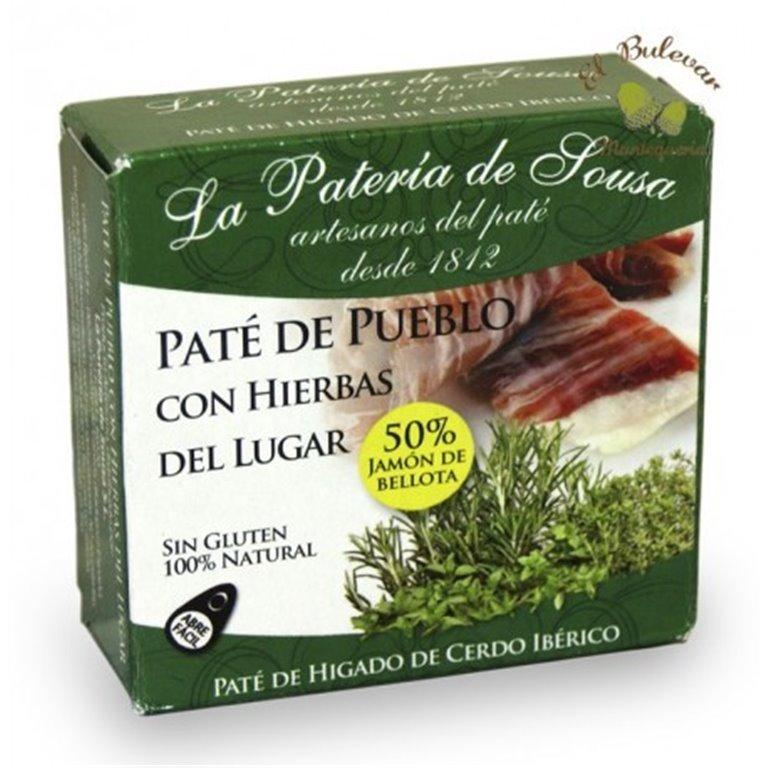 Paté de pueblo a las hierbas Pateria Sousa