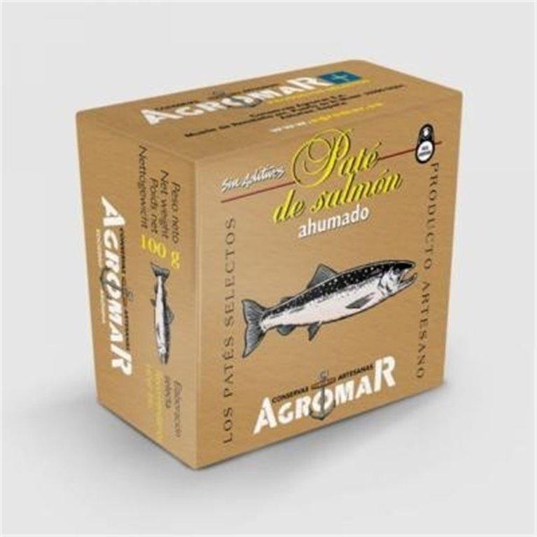 Pate de salmon ahumado Agromar