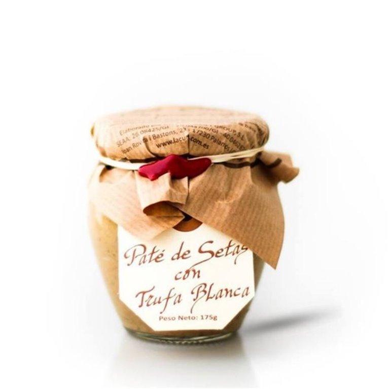 Paté de Setas con Trufa Blanca La Cuna 85 gr.