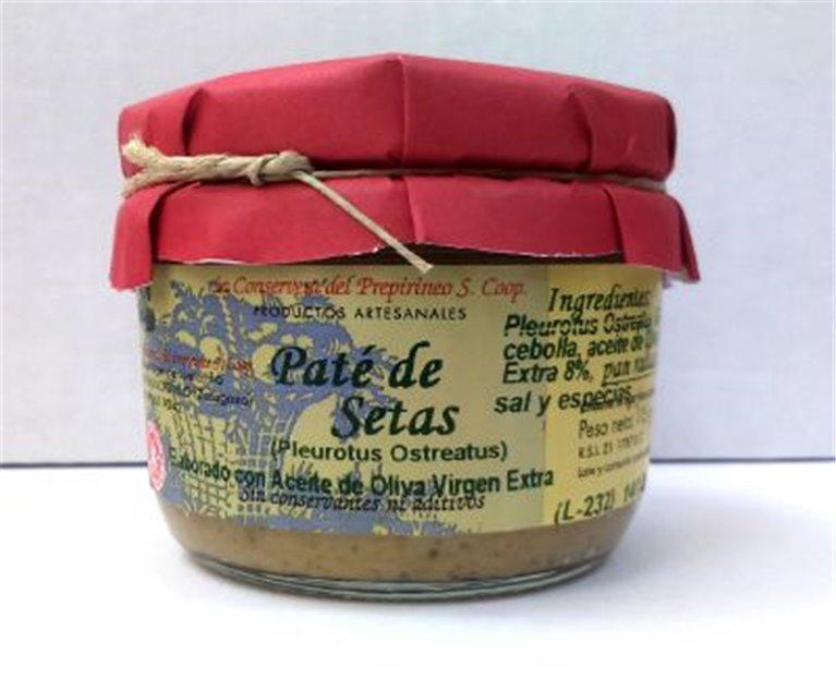 Paté de setas Uncastillo, 1 ud