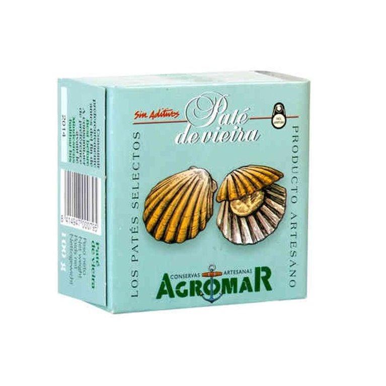 Paté de Vieira Agromar 100 gr., 1 ud