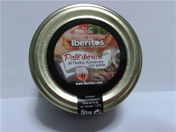 Paté ibérico al Pedro Ximenez con pasas