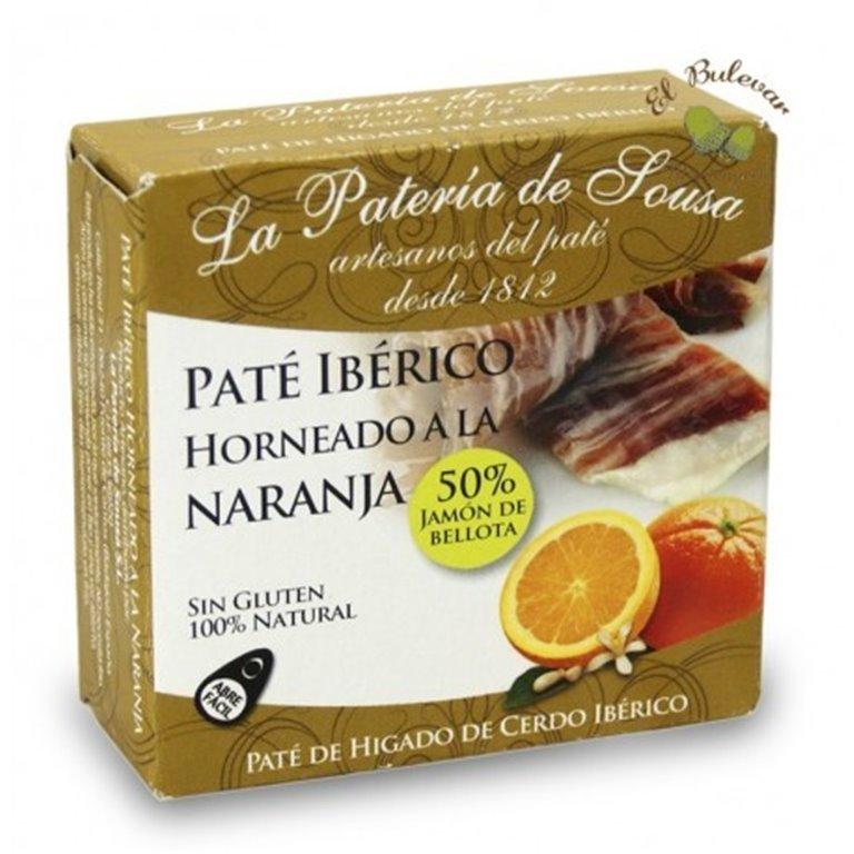 Paté Ibérico horneado a la naranja Pateria de Sousa