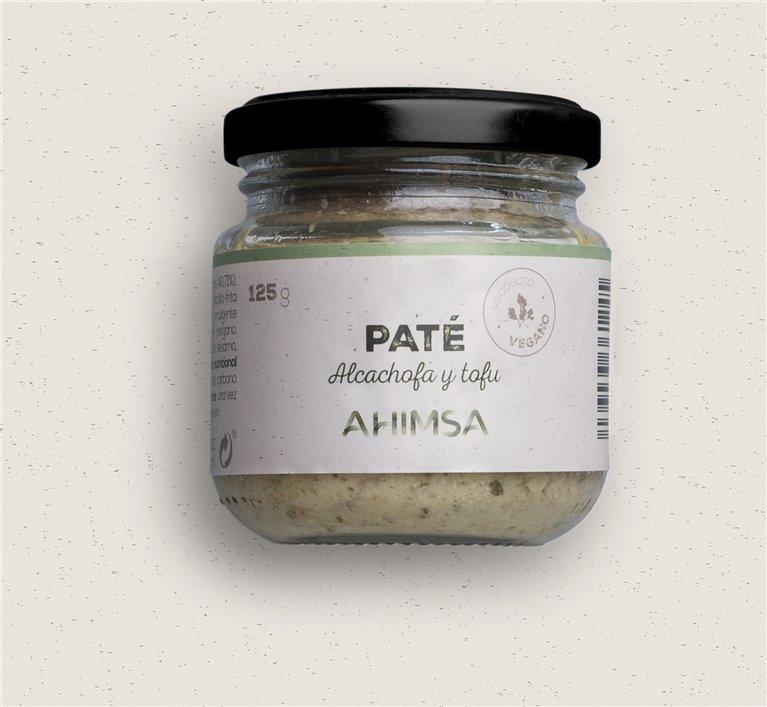Paté Tofu Alcachofas Bio Ahimsa, 125 gr