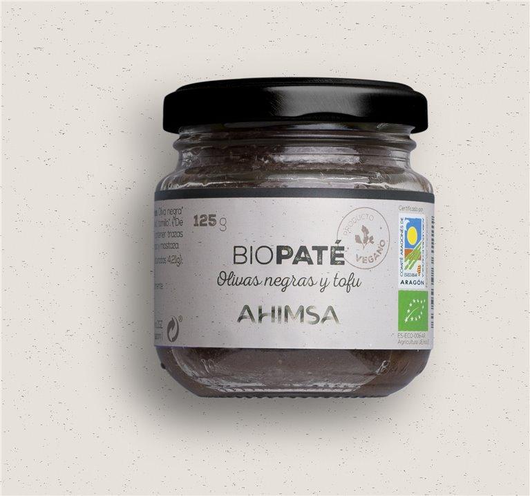 Paté Tofu Olivas Ne gras Bio Ahimsa, 125 gr