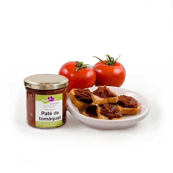 Paté tomate ecológico - 150 g - Fundación onyar