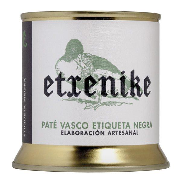 "Paté Vasco de pato etiqueta negra ""Etxenike"" 200 grs."