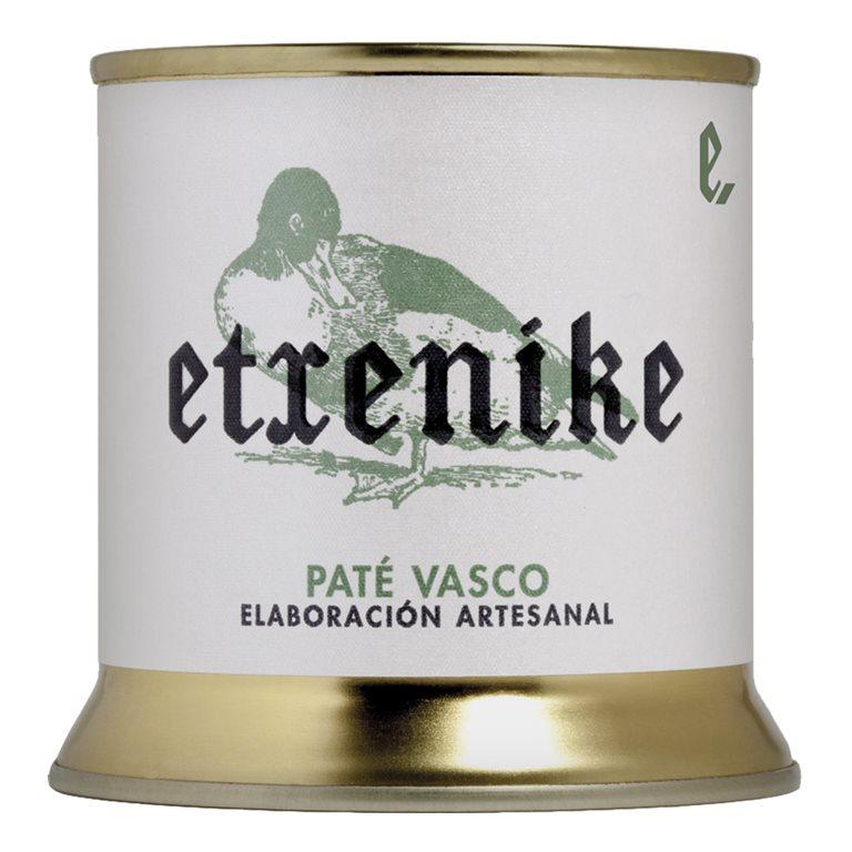 "Paté Vasco de pato ""Etxenike"" 200 grs."
