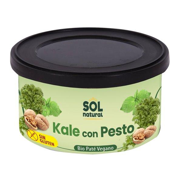Paté Vegano de Kale con Pesto Bio 125g