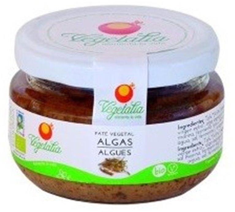 Paté Vegetal Algas Bio 110g, 1 ud