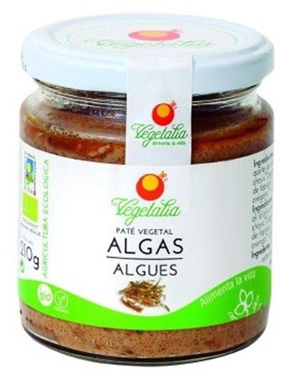 Paté Vegetal Algas Bio 210g, 1 ud