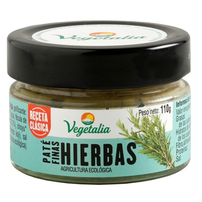 Paté Vegetal de Finas Hierbas Bio 110g