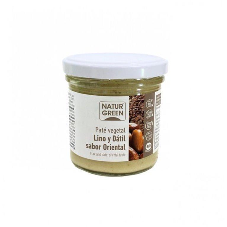 Pate vegetal de Lino y Datil sabor Oriental