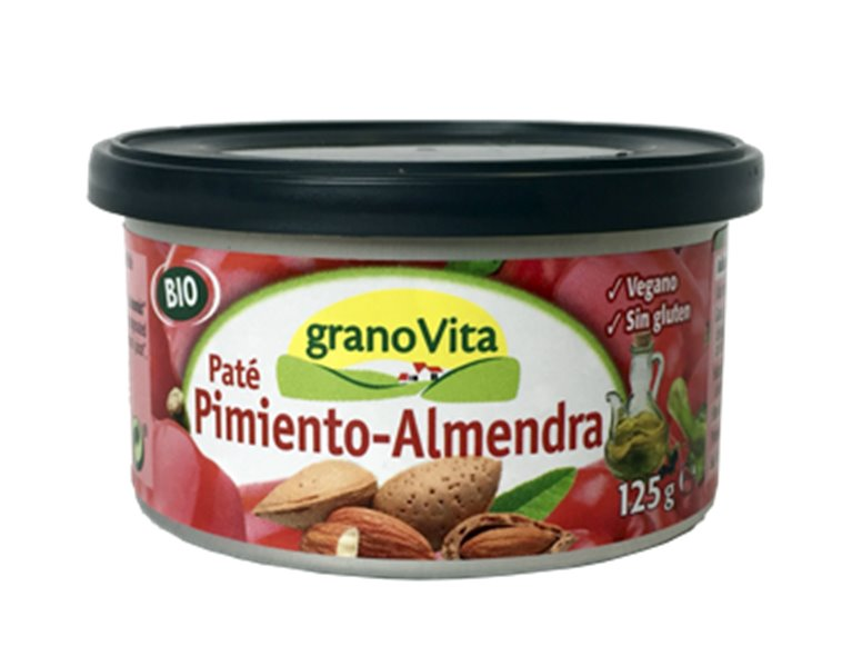 Paté Vegetal de Pimiento con Almendra Bio 125g