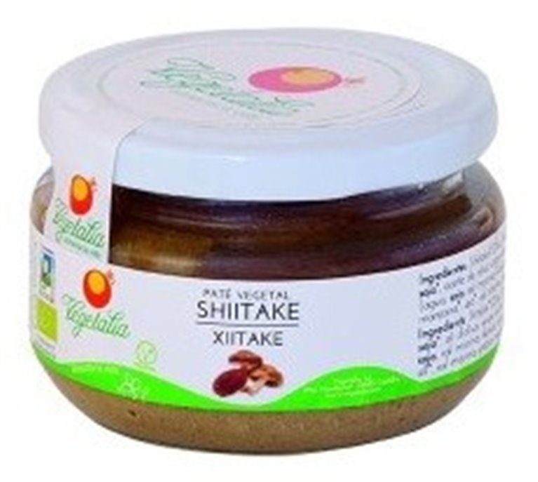Paté Vegetal de Shiitake Bio 110g, 1 ud